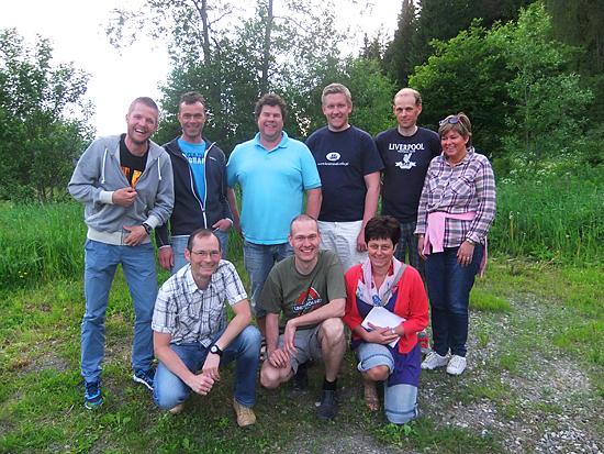 Sjusjørittet komite 2013 - Foto: Dorte Finstad
