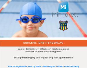 Klikk på bildet for å administrere DINE egne idrettssider, med medlemskap, påmeldinger mm.